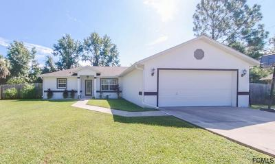 Palm Coast Single Family Home For Sale: 9 Waverly Pl