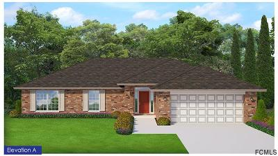 Palm Coast Single Family Home For Sale: 25 Bronson Lane