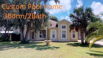 Flagler Beach Single Family Home For Sale: 5 Maple Street