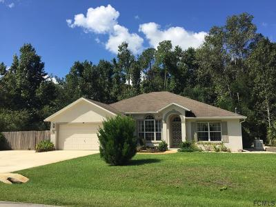 Palm Coast Single Family Home For Sale: 21 Zephyr Lily Trail
