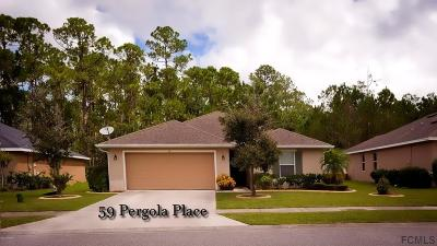 Ormond Beach Single Family Home For Sale: 59 Pergola Place