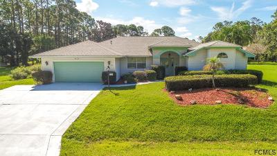 Palm Coast Single Family Home For Sale: 22 Barrister Ln