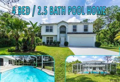 Palm Coast Single Family Home For Sale: 77 White Hall Dr