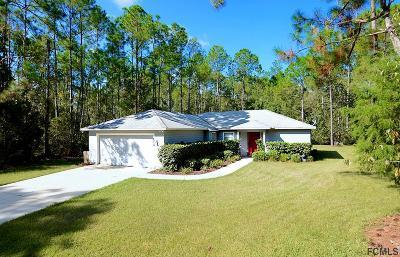 Palm Coast Single Family Home For Sale: 70 Underwood Trl