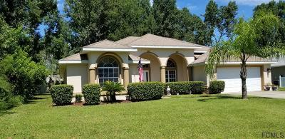 Palm Coast Single Family Home For Sale: 12 Fenhill Lane