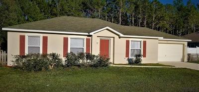 Palm Coast FL Single Family Home For Sale: $178,800