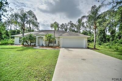 Palm Coast Single Family Home For Sale: 16 Kashmir Trail