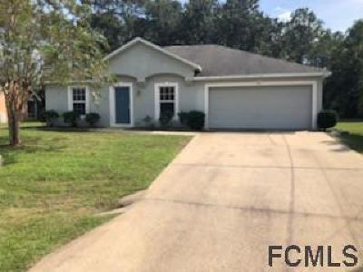 Palm Coast Single Family Home For Sale: 155 Persimmon Drive