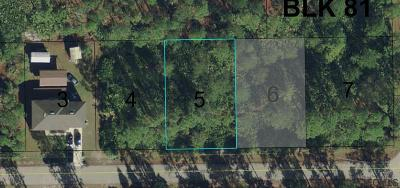 Seminole Woods Residential Lots & Land For Sale: 33 Second Path