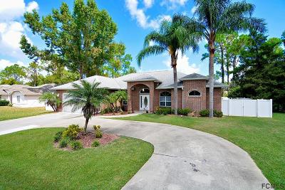 Palm Coast Single Family Home For Sale: 11 Birchwood Pl