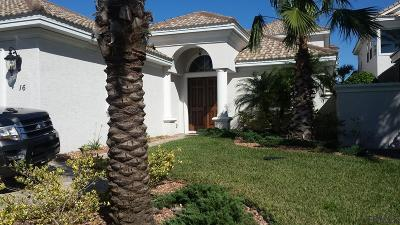 Palm Coast Single Family Home For Sale: 16 Montilla Place