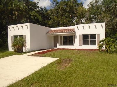 Bunnell FL Single Family Home For Sale: $154,900