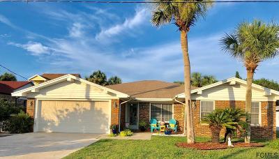 Flagler Beach FL Single Family Home For Sale: $345,000