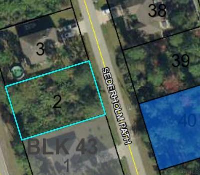 Seminole Woods Residential Lots & Land For Sale: 38 Sederholm Path