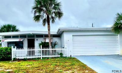 Daytona Beach Single Family Home For Sale: 2568 E Coral Way E