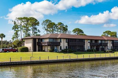Palm Coast Condo/Townhouse For Sale: 60 Club House Dr #104
