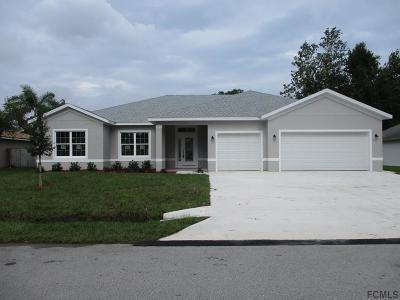 Palm Coast Single Family Home For Sale: 5 Bannbury Ln