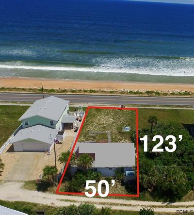Flagler Beach Single Family Home For Sale: 1628 S Ocean Shore Blvd