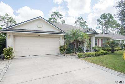 Palm Coast Single Family Home For Sale: 44 Wheatfield Dr