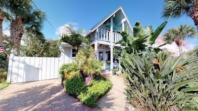 Flagler Beach Single Family Home For Sale: 2706 Central Ave S