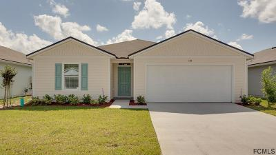 Bunnell Single Family Home For Sale: 139 Golf View Court