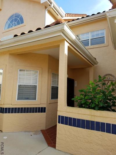Palm Coast Condo/Townhouse For Sale: 41 Captains Walk #41