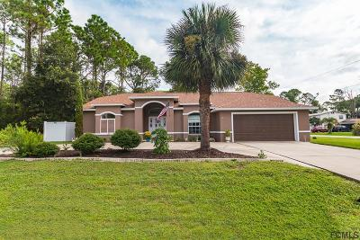 Palm Coast FL Single Family Home For Sale: $226,900
