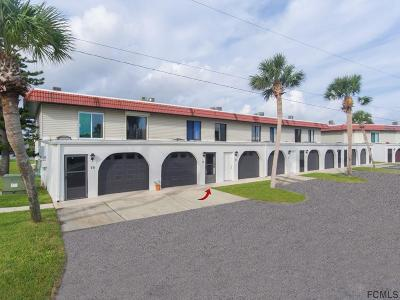 Flagler Beach Condo/Townhouse For Sale: 17 Ocean Palm Villas N #17