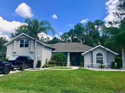 Palm Coast FL Single Family Home For Sale: $279,900
