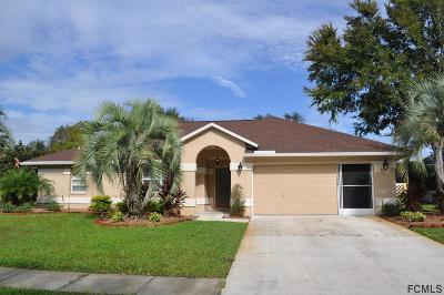 Palm Coast Single Family Home For Sale: 10 Cedar Point Dr