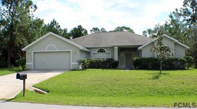 Palm Coast FL Single Family Home For Sale: $249,900