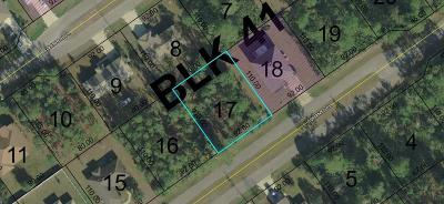Seminole Woods Residential Lots & Land For Sale: 9 Squanto Place