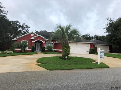 Palm Coast Single Family Home For Sale: 7 Farver Lane