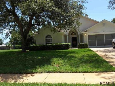 St Augustine Single Family Home For Sale: 647 Aleida Drive