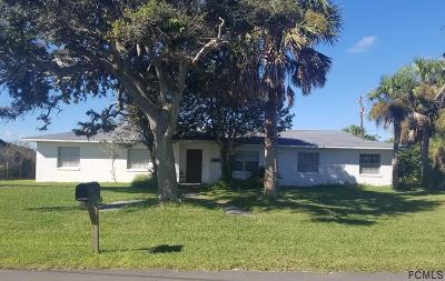 Flagler Beach Single Family Home For Sale: 1900 S Daytona Ave