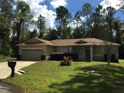 Seminole Woods Single Family Home For Sale: 14 Squash Blossom Court