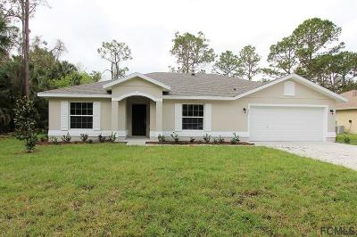 Palm Coast Single Family Home For Sale: 77 Pilgrim Drive