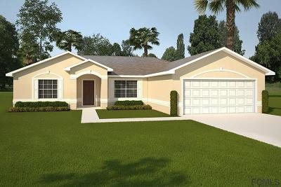 Palm Coast Single Family Home For Sale: 9 Squadron Place