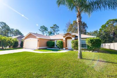 Palm Coast Single Family Home For Sale: 98 Pine Grove Dr