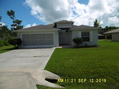 Palm Coast Single Family Home For Sale: 45 Rolling Fern Drive