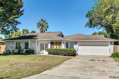 Palm Coast Single Family Home For Sale: 36 Folson Lane