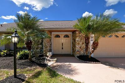 Palm Coast Single Family Home For Sale: 16 Clearview Ct S