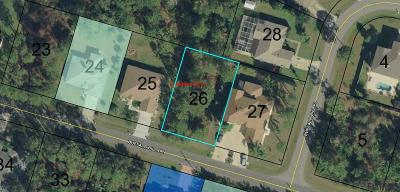 Matanzas Woods Residential Lots & Land For Sale: 14 Buffalo Bill Dr