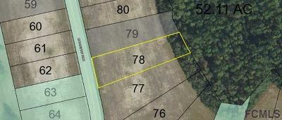 Conservatory At Hammock Beach Residential Lots & Land For Sale: 702 Mahogany Run