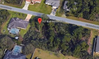 Indian Trails Residential Lots & Land For Sale: 107 Bud Hollow Drive