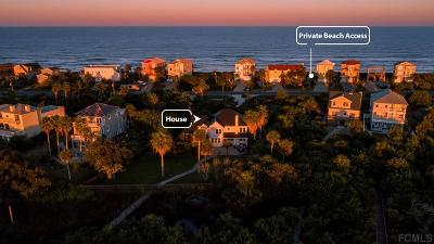 Flagler Beach Single Family Home For Sale: 3310 N Ocean Shore Blvd
