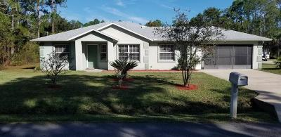 Palm Coast Single Family Home For Sale: 2 Regina Lane