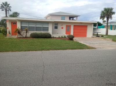 Flagler Beach Single Family Home For Sale: 112 S 13th St S
