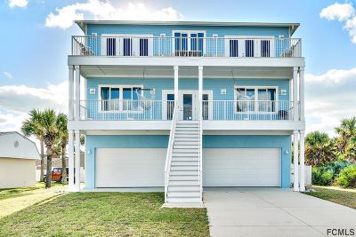 Flagler Beach Single Family Home For Sale: 3126 N Ocean Shore Blvd