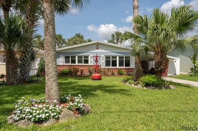 Flagler Beach Single Family Home For Sale: 1412 S Daytona Ave